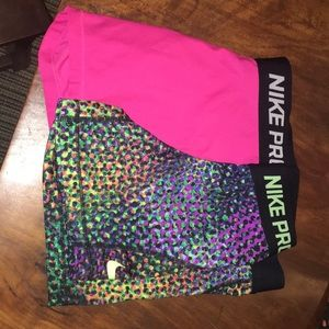 Nike pros girls medium